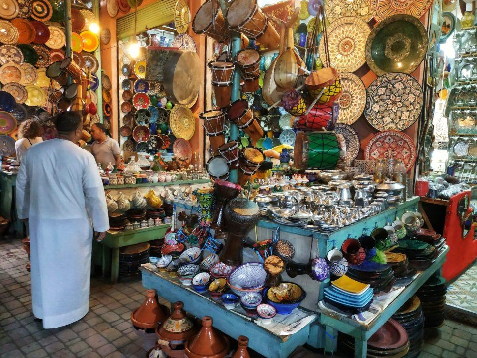 Maroko trhy