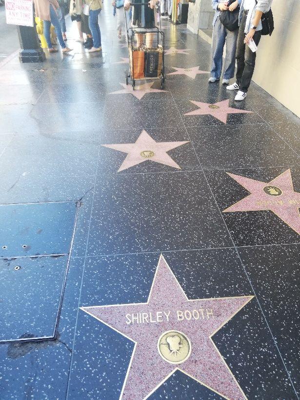 Hollywood Walk Frame
