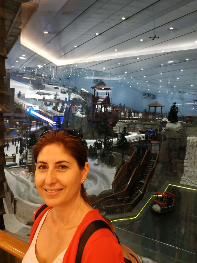 Dubaj mall of the emirates